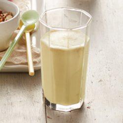 Smoothie bananowe na mleku sojowym