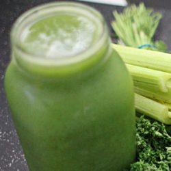 Zielony sok wspomagający odporność